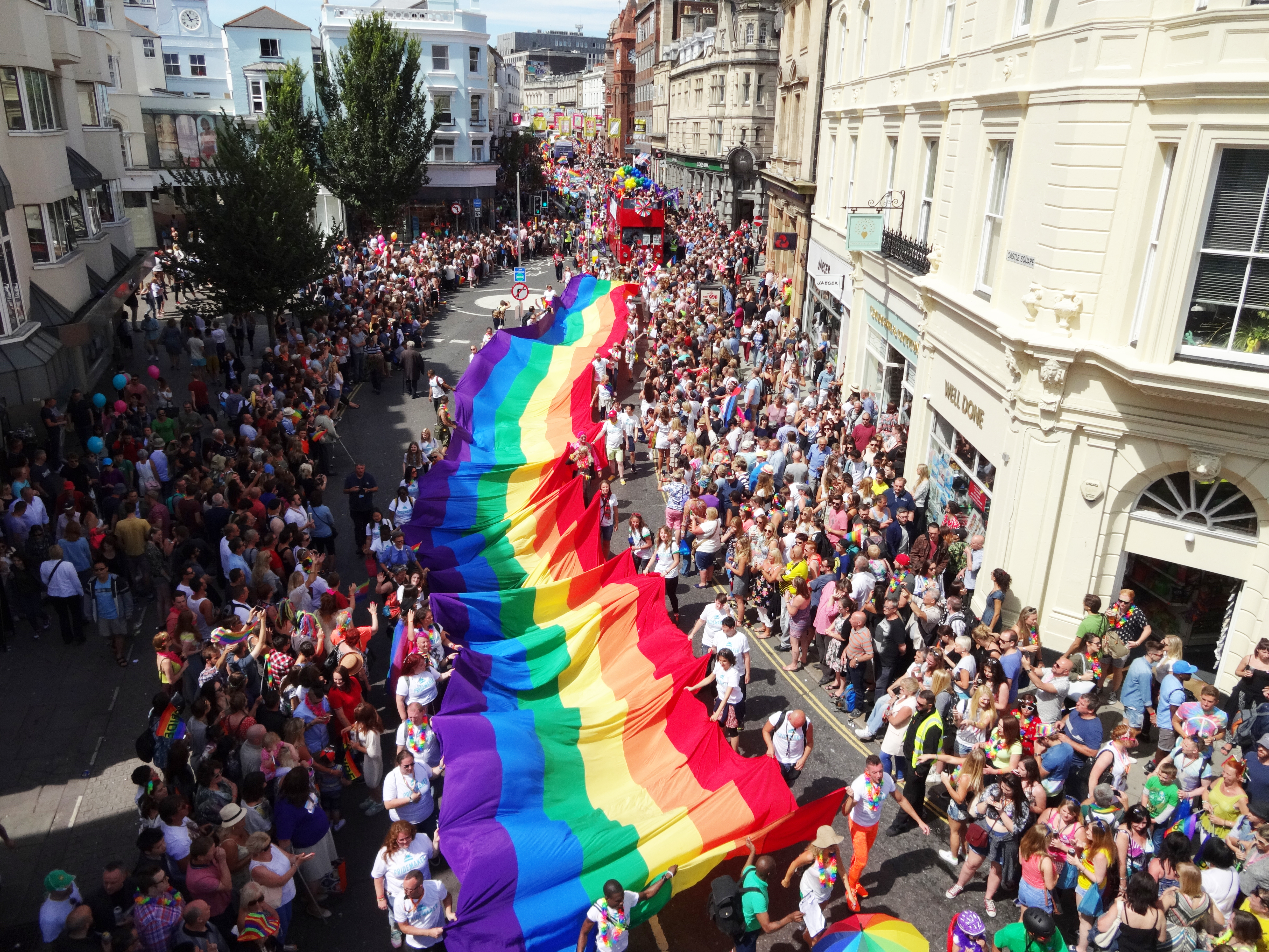 Pride 2015 smashes fundraising target