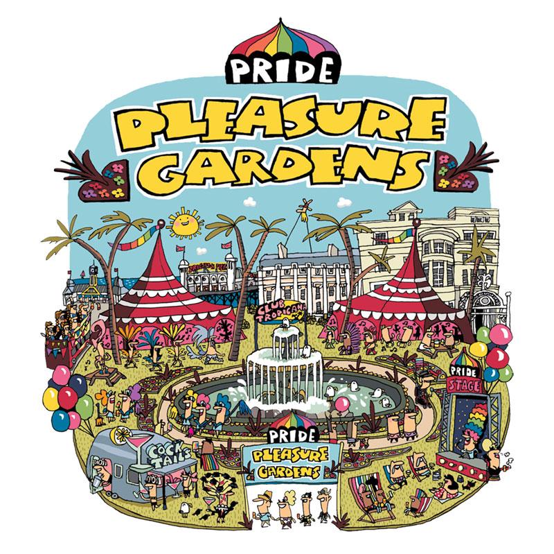 Pride Pleasure Gardens