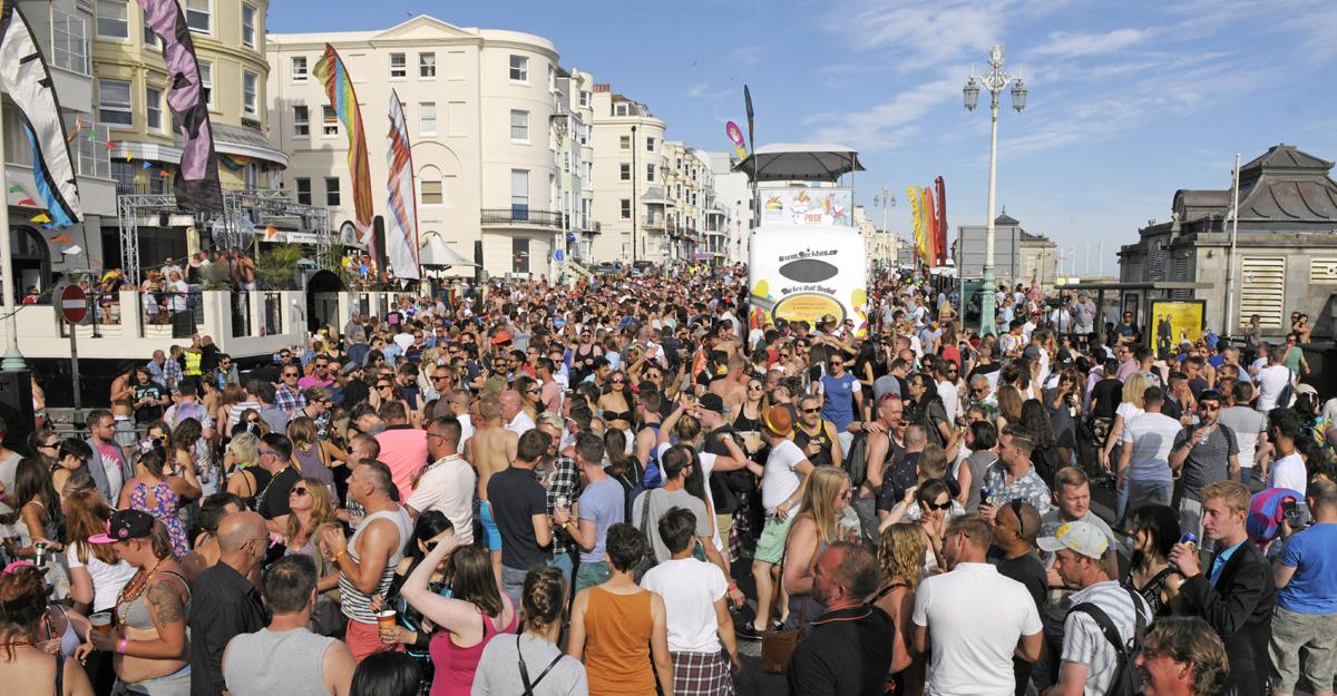 Pride Village Party