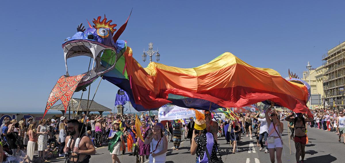 Brighton Pride community Parade 2017 entries open.