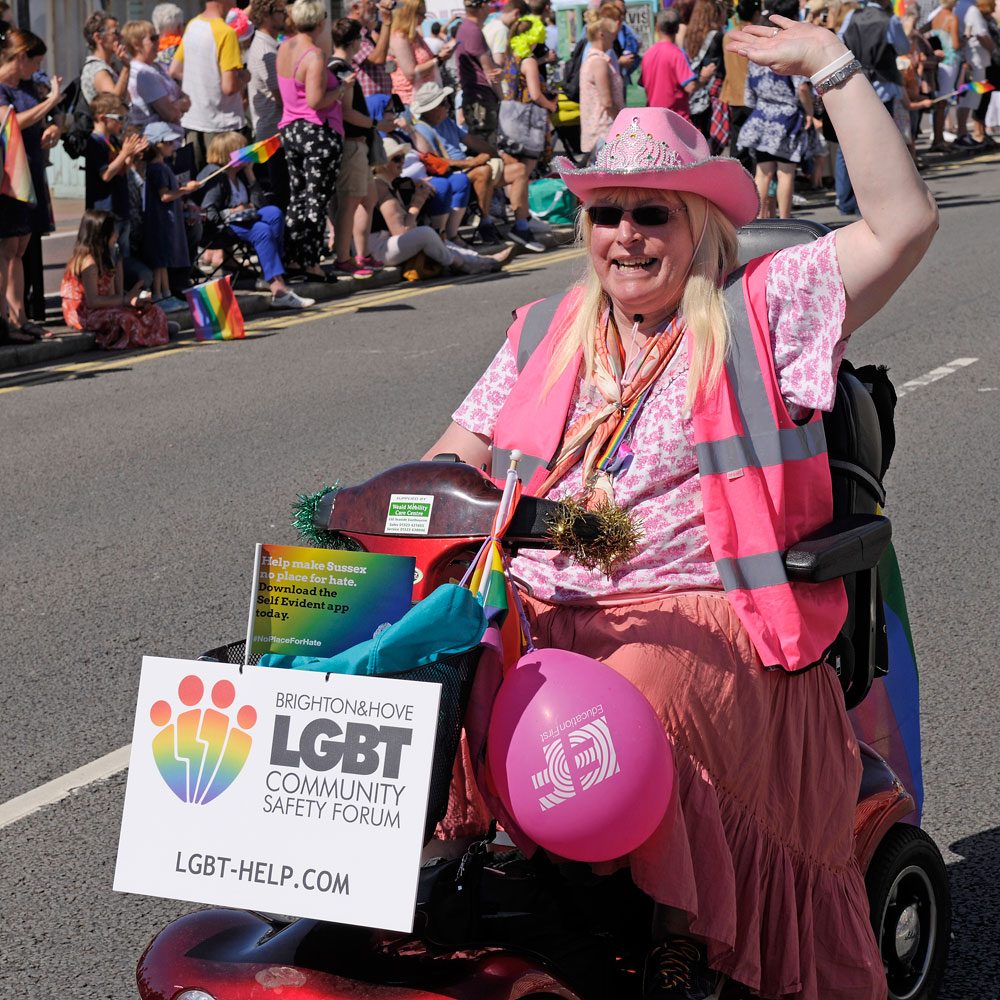 Access facilities and services at Pride 2017