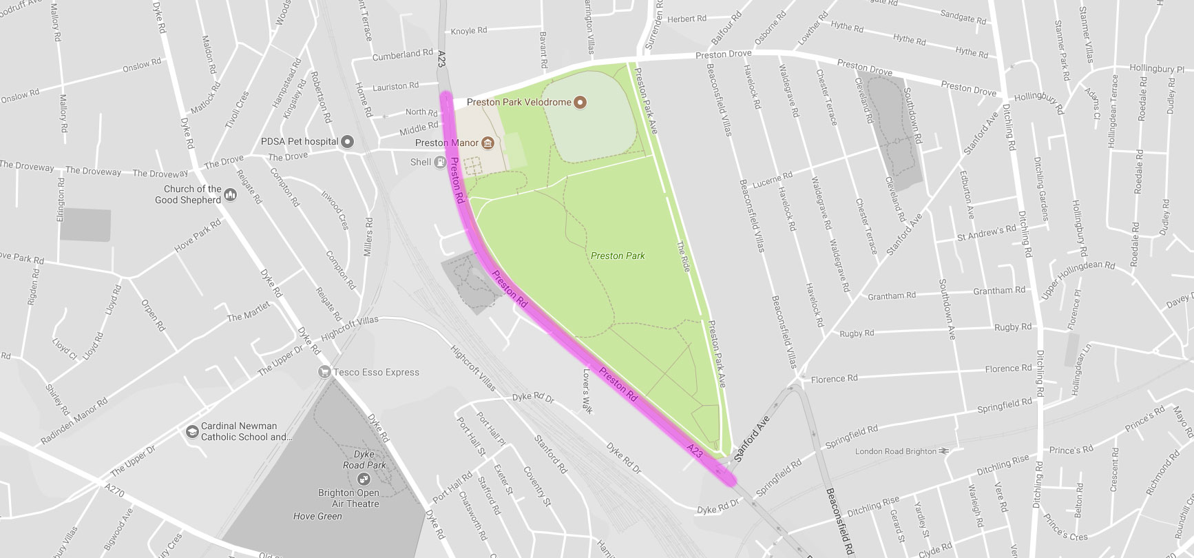Road Closures on Sat 5 August