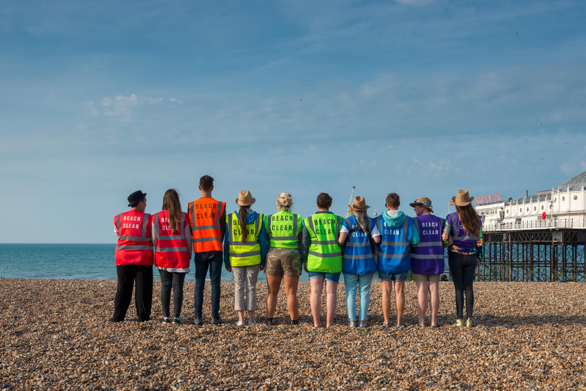 First Big Pride Beach Clean A Huge Success
