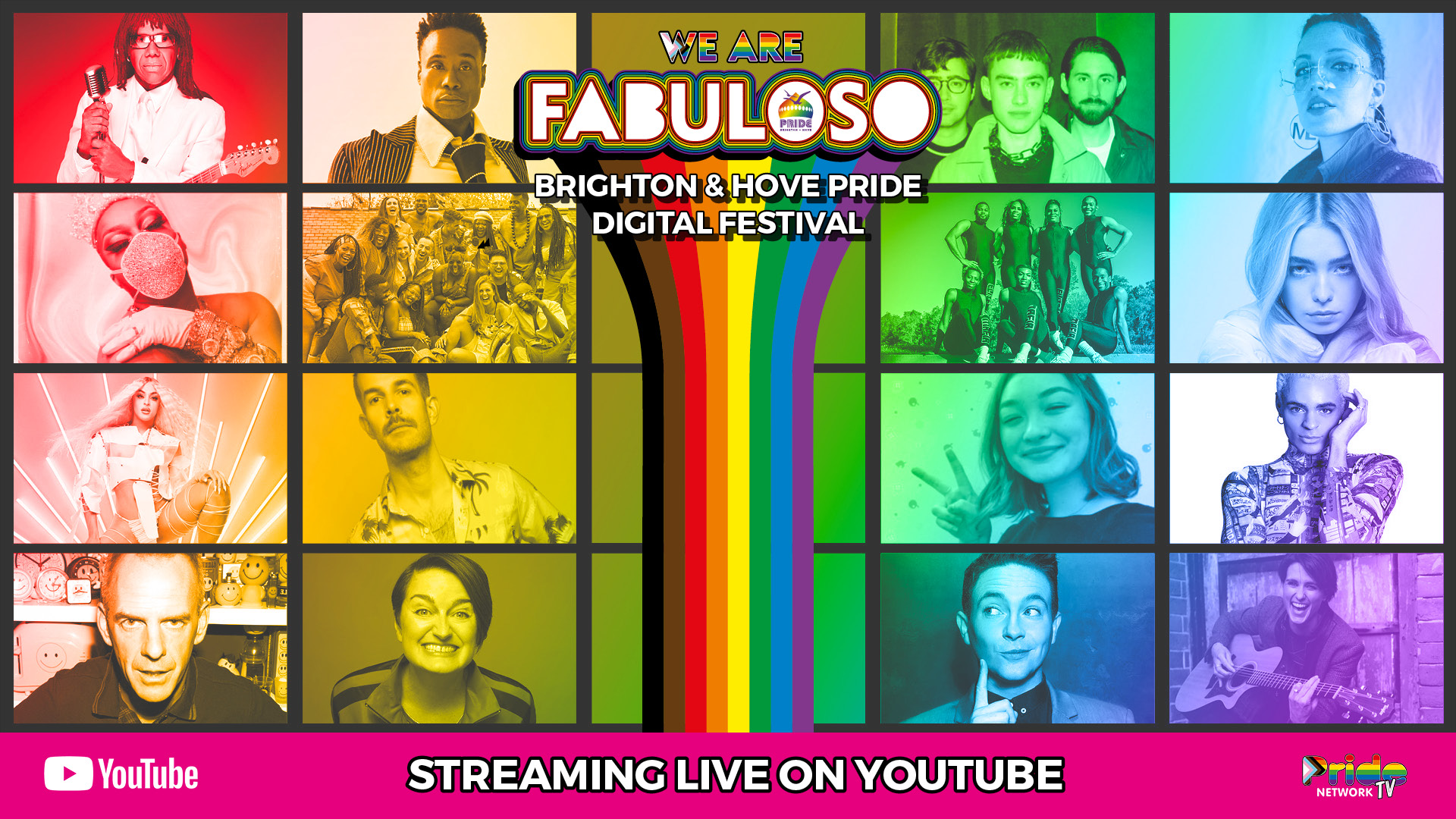 We Are FABULOSO – Full Schedule