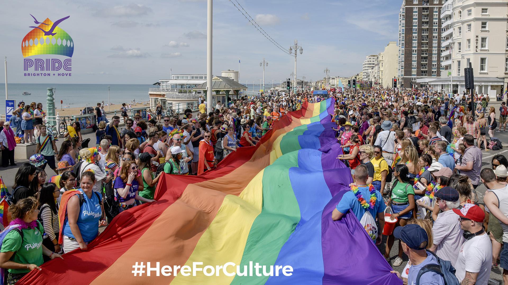 Brighton & Hove Pride Receive Culture Recovery Fund Grant