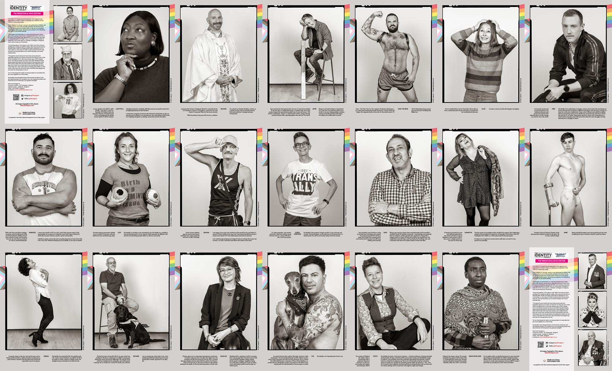 The Identity Project – On Display Across The City